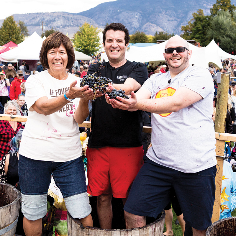 Oliver Osoyoos Wine Country - Festival of the Grape