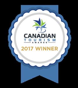 Canadian Tourism Awards Winner
