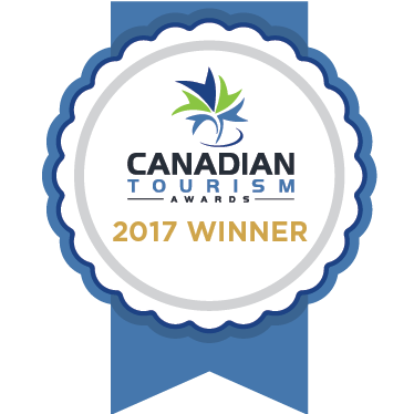 Canadian Tourism Awards Winner
